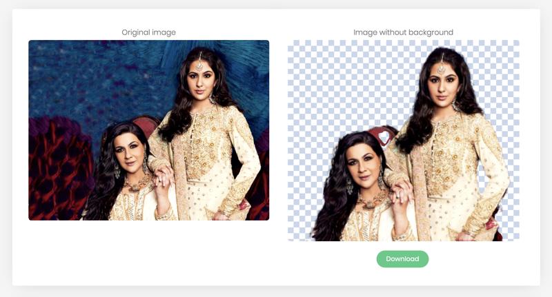 photo blur remove bg