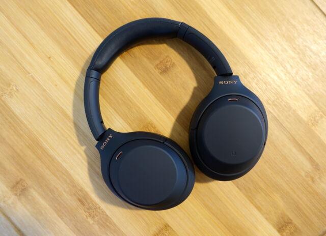 Sony's WH-1000XM4 noise-canceling headphones.