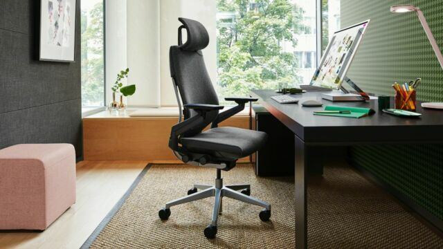 Steelcase's gesture offers serious comfort at a serious price.