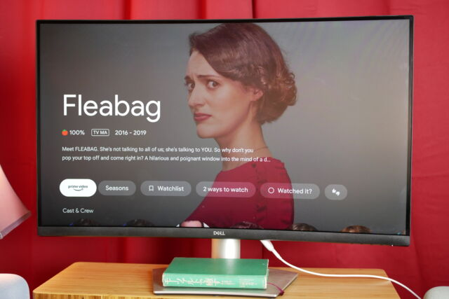 Phoebe Waller-Bridge, always a winner. And in the Great Streaming Stick Wars of 2021™, the winner is...