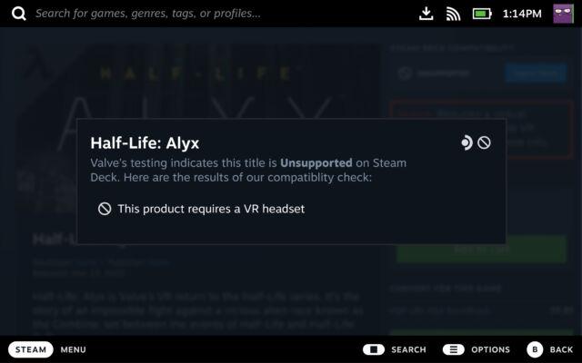 VR games like <a href=